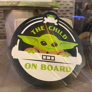 The Child Baby Yoda Car Magnet